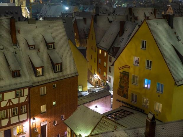 nuremberg old town in winter 16