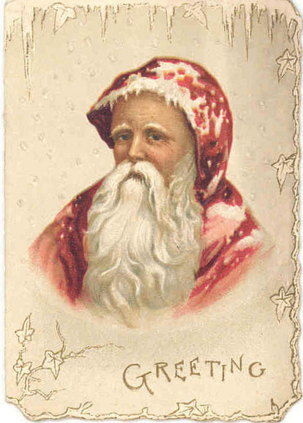Nicholas Father Christmas 1890 Vand Ap