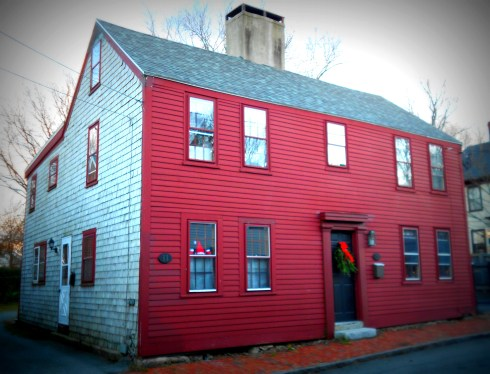 red house Newburyport