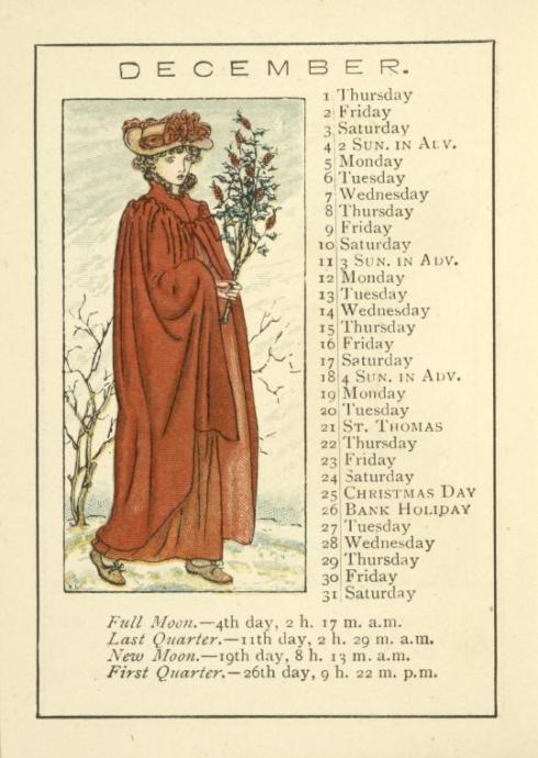Solstice Kate Greenaway 1891