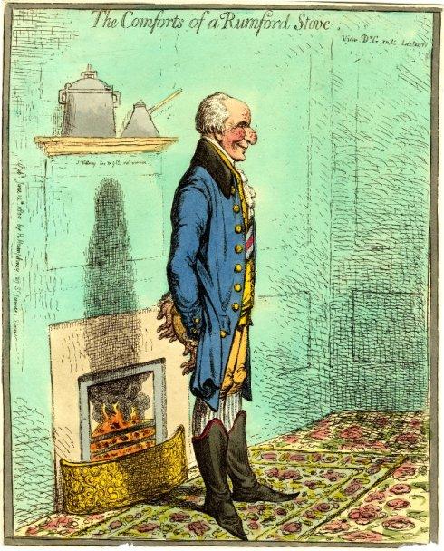 Gillray Comforts 1800