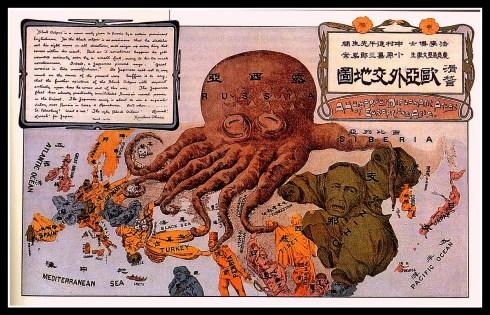japan propaganda map 1904