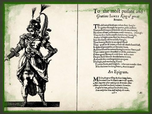 Twelfth Night Masque 1607 costume