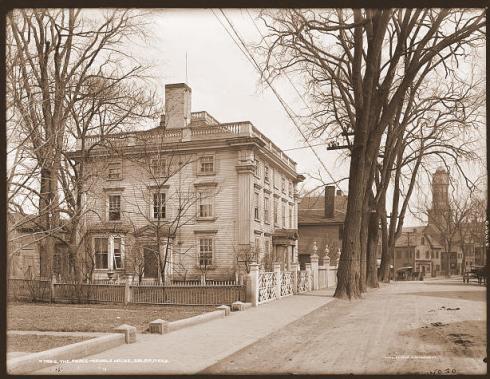 Vantage Point Fed Street 1910