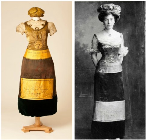 Champagne Dresses from Fifty Fabulous Frocks at Bath Fashion Museum