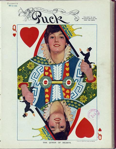 Queen of Hearts 1904 Evelyn Nesbit Shaw