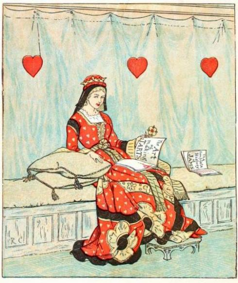 Queen of Hearts by Randolph Caldecott