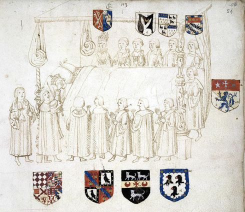 Royal Entry Death of Henry VII