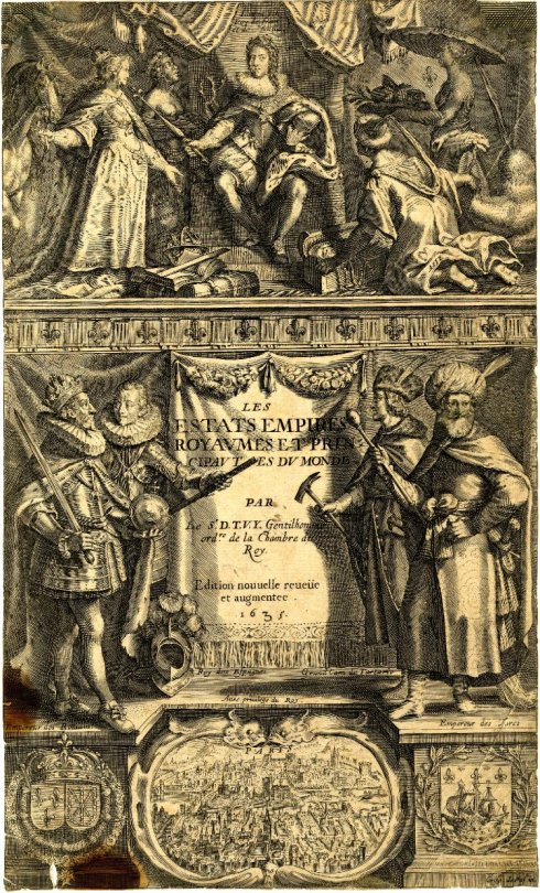 Louis XIII and the Four Continents