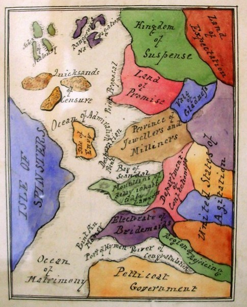 Matrimony map Skinner