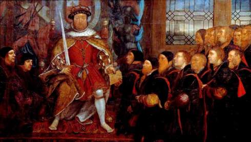 Tudors Henry and Barber Surgeons 1541 Hunterian