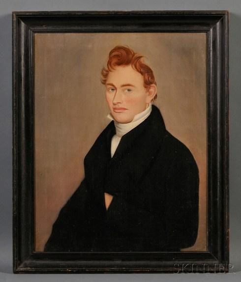 Ginger-Haired Man POrtrait