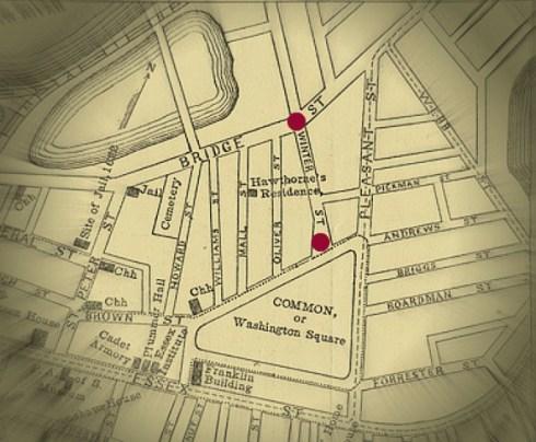 Winter Street Map Perley 1905
