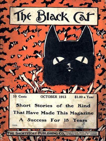 Black Cat 1913 cover