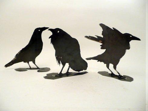 Raven Sculptures