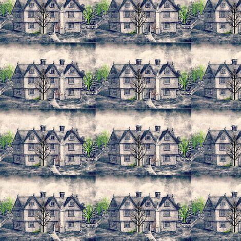 Salem Spoonflower Fabric