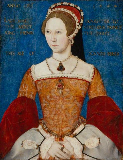NPG 428; Queen Mary I by Master John