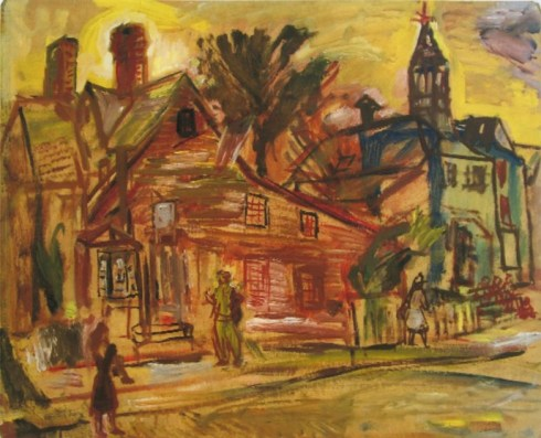 House of Seven Gables 1940s Theresa Bernstein