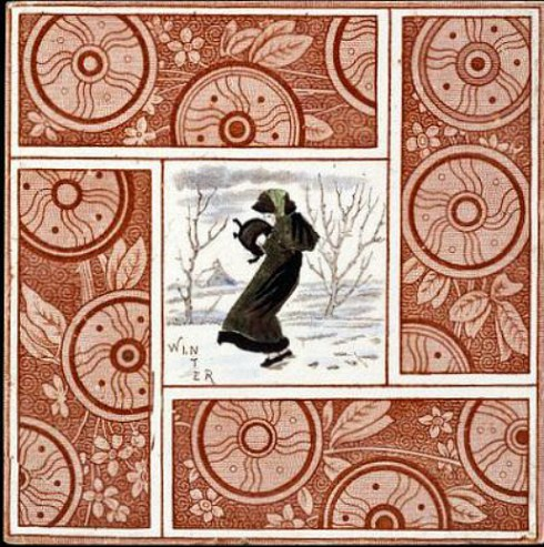 Midwinter Tile Kate Greenaway