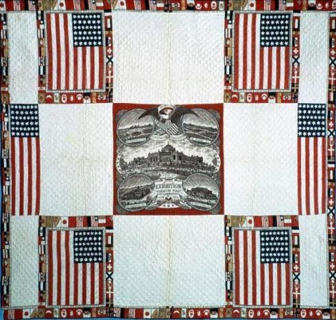 Fabric Centennial Quilt Smithsonian