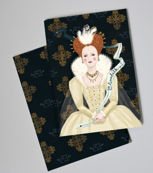 Paper Queens elizabeth-notebook
