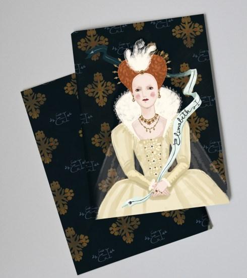 Paper Queens elizabeth-notebook