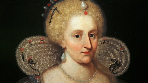 Anne of Denmark Close-up