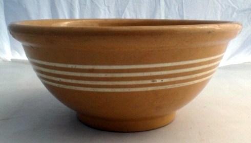 bowl Yellow Ware