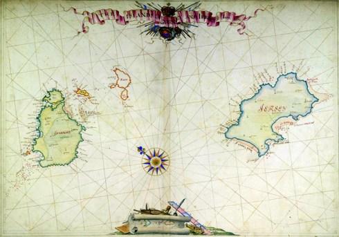 English Channel Islands 1680
