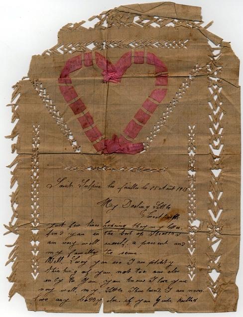Love Letter Australian War Memorial 1918