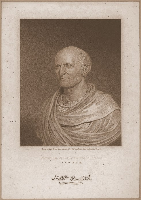 Bowditch Bust Smithsonian