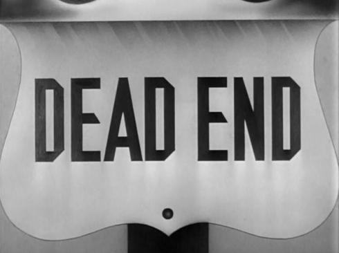 Film Font Dead End 1937