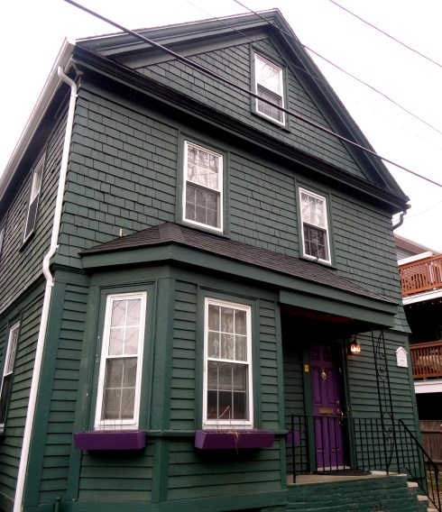 Green and Purple House Salem