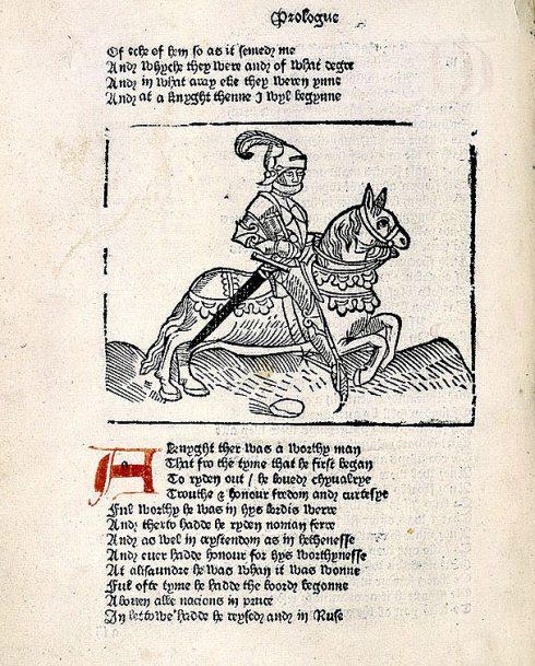 Knight's Tale Caxton BL