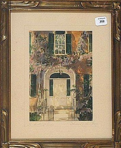 Florence Thompson Cushing Door