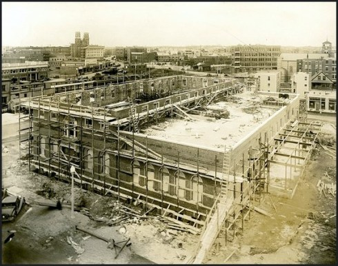 Post Office Construction c. 1933