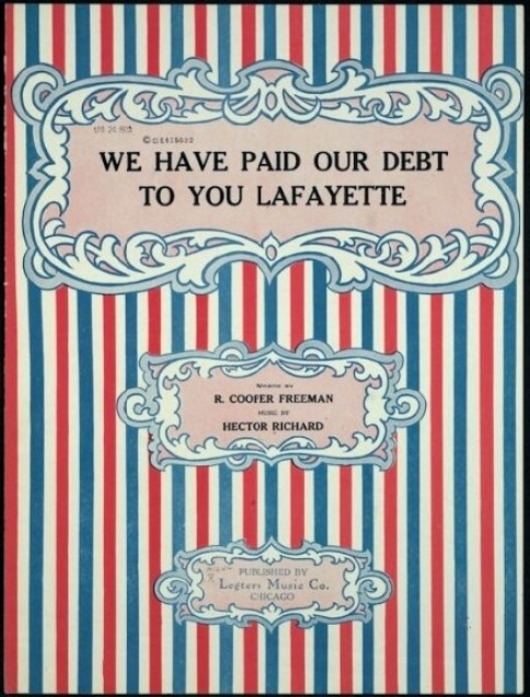 Lafayette Paid Debt LC 1919