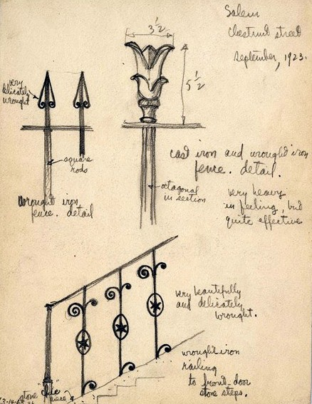SS Hirschmann Fences Sketch
