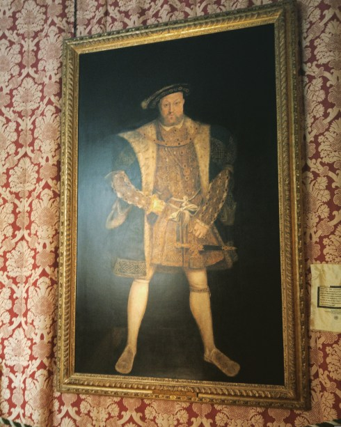 Henry VIII at Hampton Court