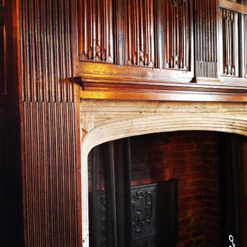 Sutton House Linenfold Paneling