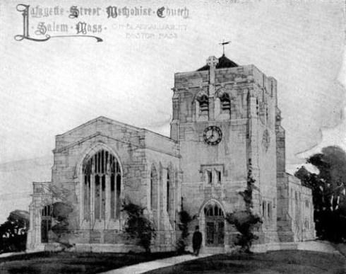 Lafayette Church 1880s