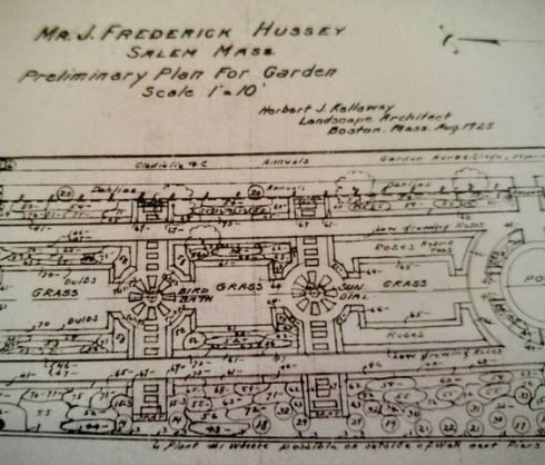 Hussey Garden Plan