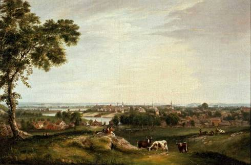 Fisher View of Salem from Gallows Hill