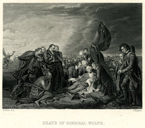 death-of-general-wolfe-john-rogers-1830