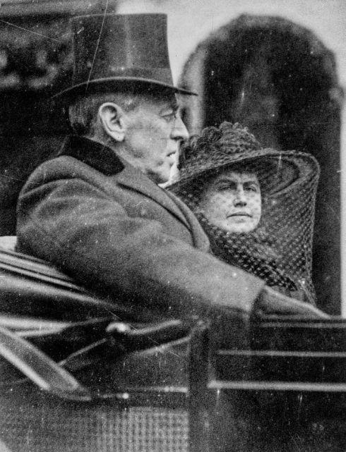 inauguration-wilson-1917