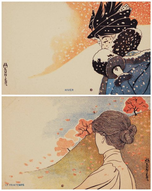 Seasons collage Meunier