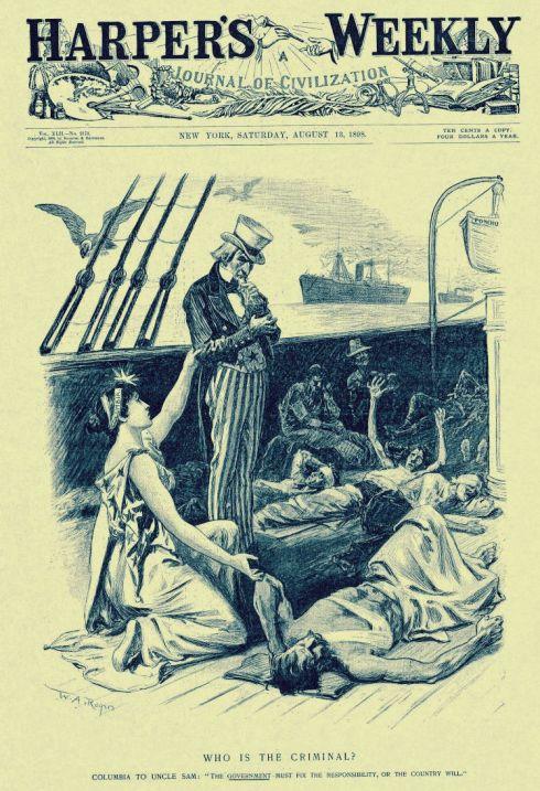 Spanish-American War Harpers