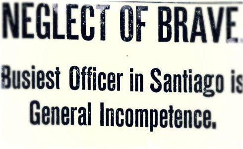 Spanish-American War Headline