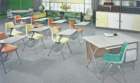 Stylish schoolchairs Brunswick