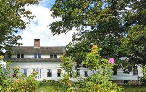 White NH hill house 2